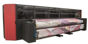 Imaged Advertising Creations (IAC) is the first company in Canada to install the Electronics For Imaging (EFI) Vutek FabriVu 520 dye-sublimation printer.