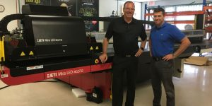 Gilmore Reproductions has upgraded their wide-format capabilities with a Jeti Mira 2732 light-emitting diode (LED).