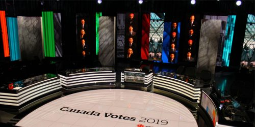 APG Media Group builds one of the most technologically advanced live broadcast studio for election night.