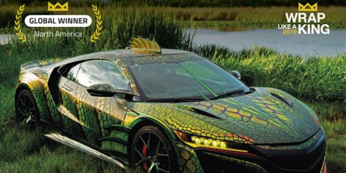 Avery Dennison Graphics Solutions has announced MetroWrapz has won the 'King of the Wrap World' title.