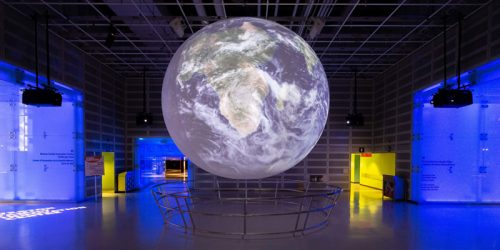 Ontario Science Centre welcomes guests to experience its latest multimedia installation, 'Life of Earth.'
