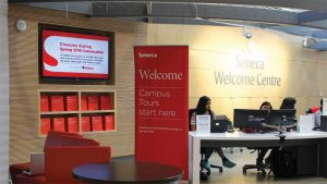 Dot2Dot Communications helped Seneca College renew a robust digital signage solution to automate and streamline communications for 30,000 full-time students using 200 liquid-crystal display (LCD) screens across its campuses in Toronto, York Region, and Peterborough, Ont.