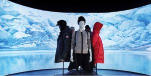 Canada Goose provides digital shopping experience