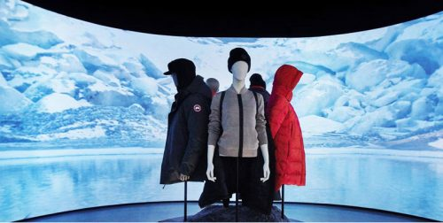 Canada Goose recently opened an interactive retail concept store in Toronto.