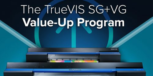 Roland DGA Corporation has expanded its TrueVIS Value-Up program