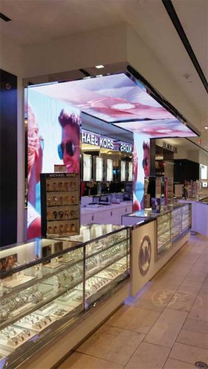 A significant trend in store planning is the 'store-in-a-store' strategy, where a major brand represents its products by creating mini pavilions or entire sections with their  own branding, fixtures, and displays.