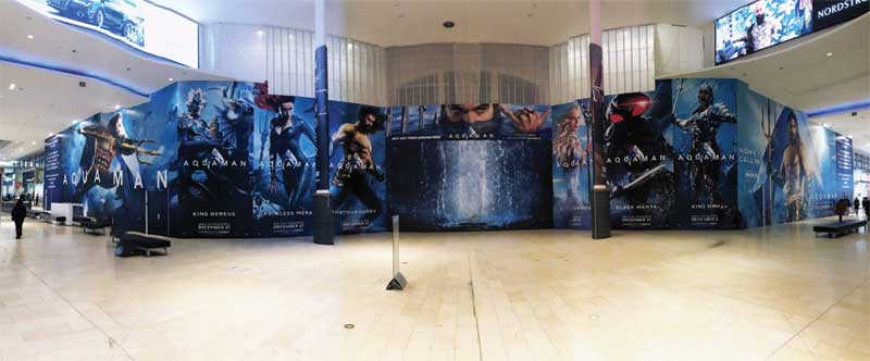 To produce the super-sized display, the company used an HP 3000 Latex printer, running two rolls of Drytac ReTac Smooth 150 concurrently. The white polymeric printable polyvinyl chloride (PVC) film features removable adhesive technology for easy installation, repositioning, and removal.