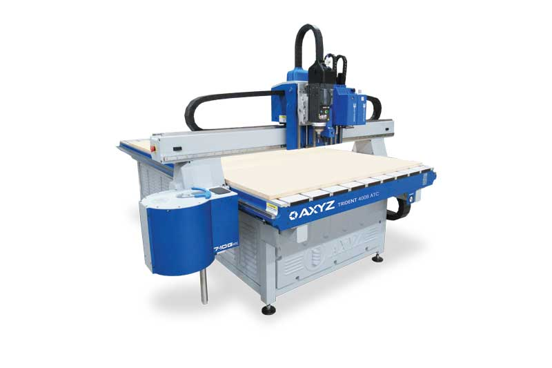 A computer numerical control (CNC) router with a versatile router/knife combination can help optimize a signmaker's creativity.