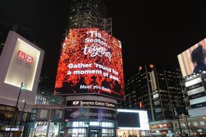 Public Office was an Obie finalist this year for its work on Starbucks Canada's CF Toronto Eaton Centre Tree Lighting Event campaign.