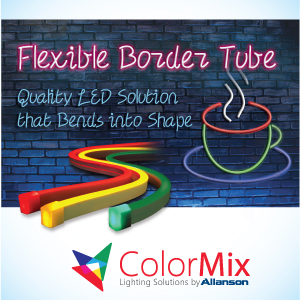 Illumination - Allanson International Inc. for its Flexible Border Tube