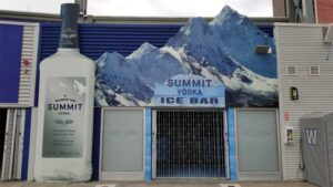 The Summit Vodka Bar project was a finalist in the Unique Signs category at the 2020 Best of Canada's Sign Industry Awards (BOCSIes).