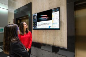 Montreal-based provider of out-of-home (OOH) marketing technology Broadsign has announced a collaboration with Captivate, a North American location-based digital video office network.