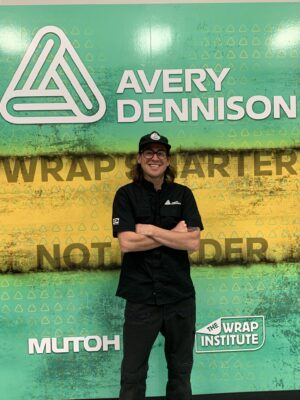 Avery Dennison Graphics Solutions recently announced the addition of trainer Charlie Trujillo to its vehicle wrap training program.