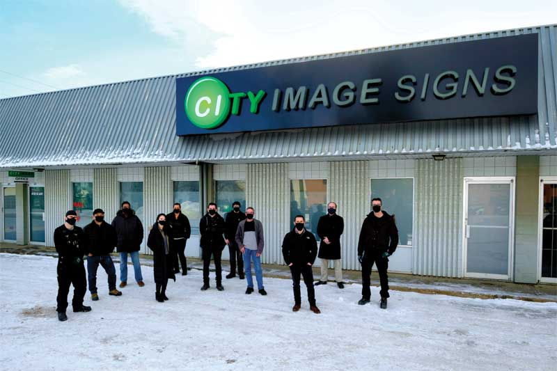 City Image Signs was formed in 2015 through the purchase of an existing signage manufacturing outlet in Edmonton.