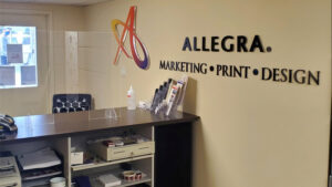 Allegra Marketing Print Design in Stouffville, Ont., recently celebrated 10 years in business.