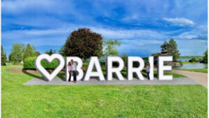 Barrie city council has tentatively approved a plan to build a 'Love Barrie' sign in the city's Heritage Park. The plan is up for a final vote on June 14.