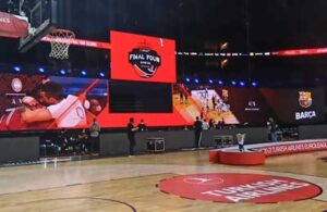 The Final Four of the EuroLeague deployed spectacular LED displays.